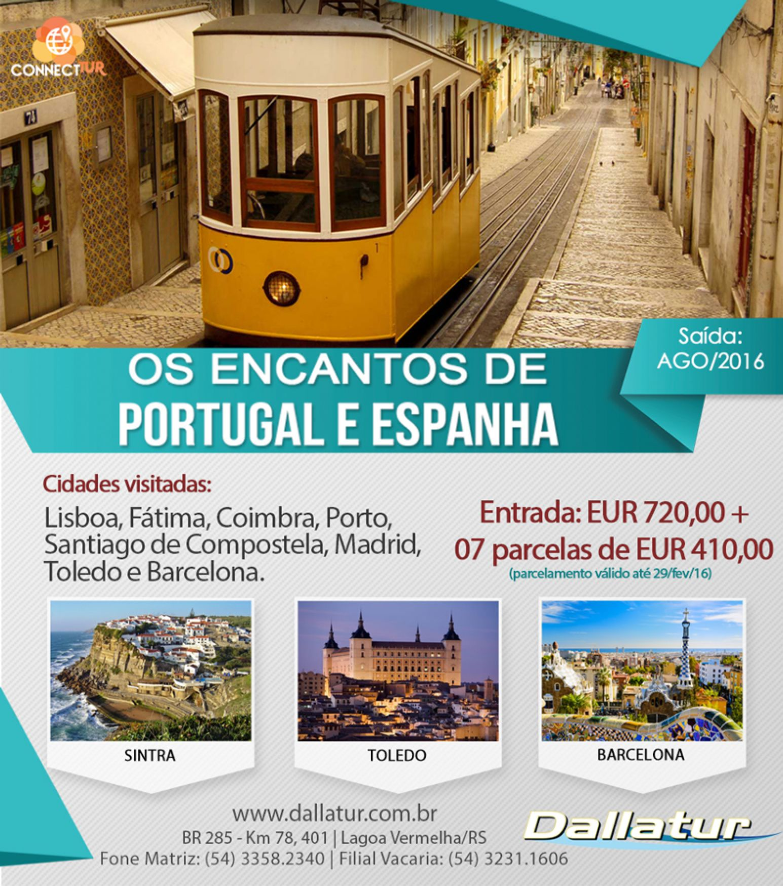 PORTUGAL E ESPANHA - 14 DIAS