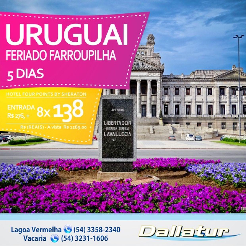 URUGUAI ENCANTADOR - FERIADO FARROUPILHA